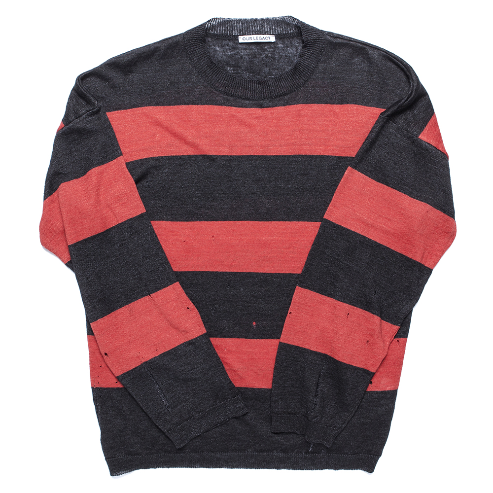 OUR LEGACYPopover Knit(Red/Brown Stripe)50% Off  w 398,000