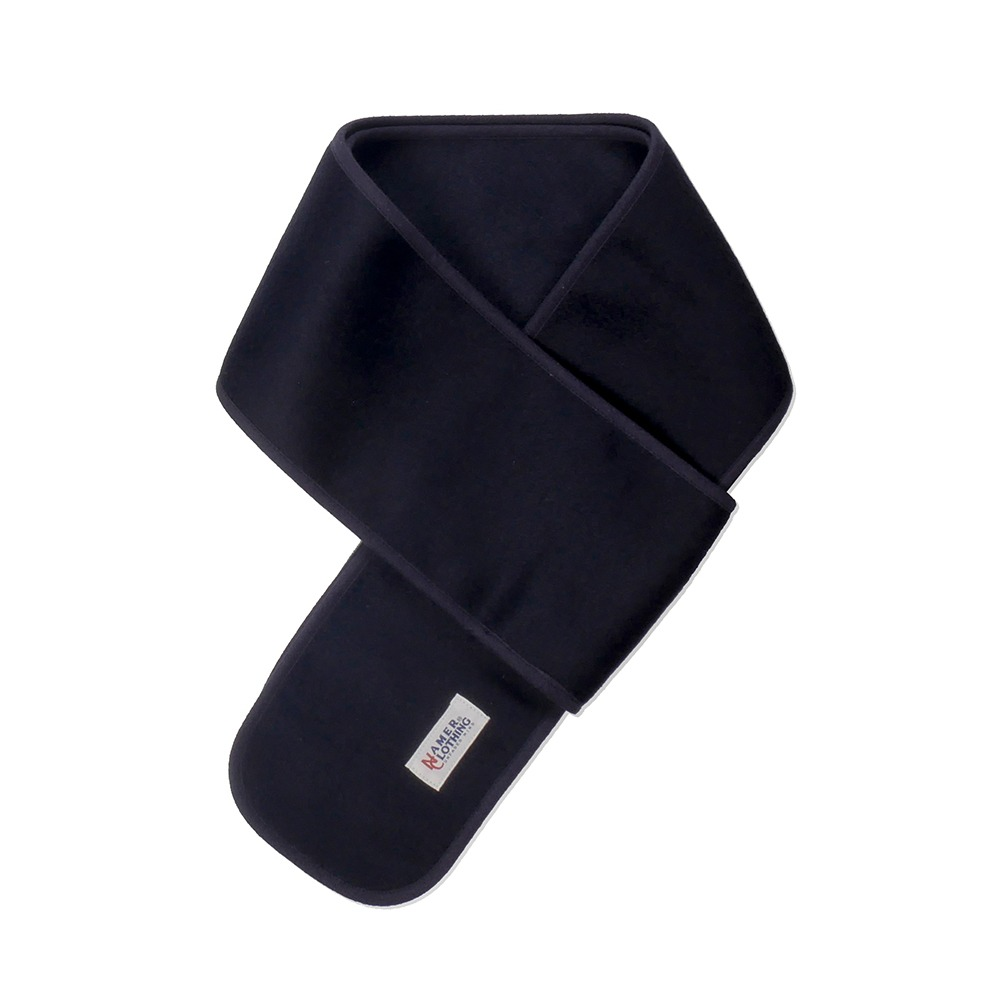 NAMER CLOTHINGNC Wool Cashmere Neck Warmer(Navy)