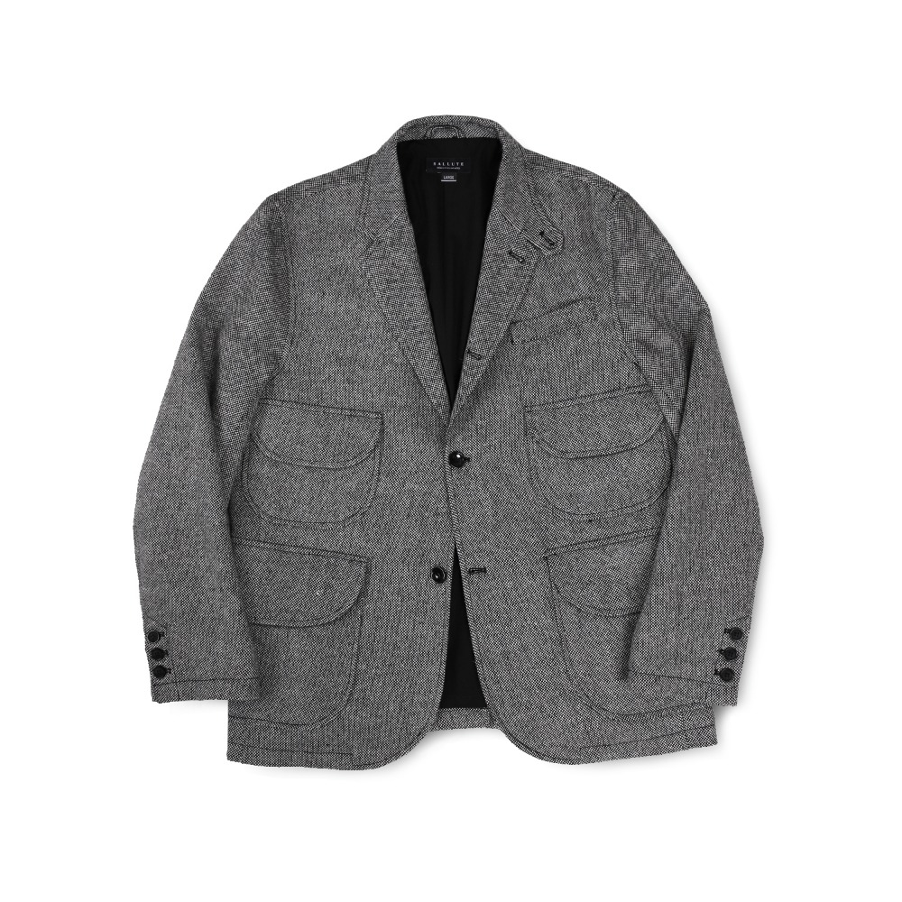 BALLUTEMagazine Jacket(Grey Wool)30% Off