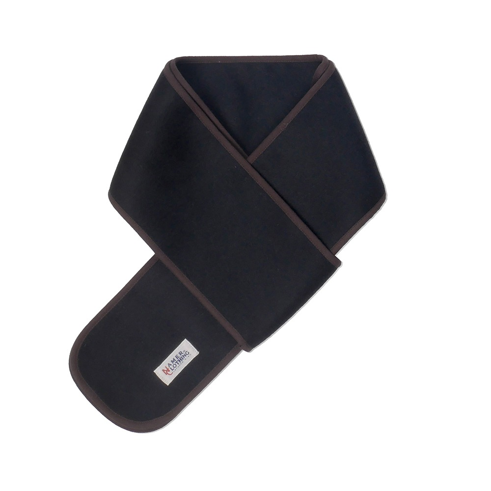 NAMER CLOTHINGNC Wool Cashmere Neck Warmer(Black)30% Off W45,000