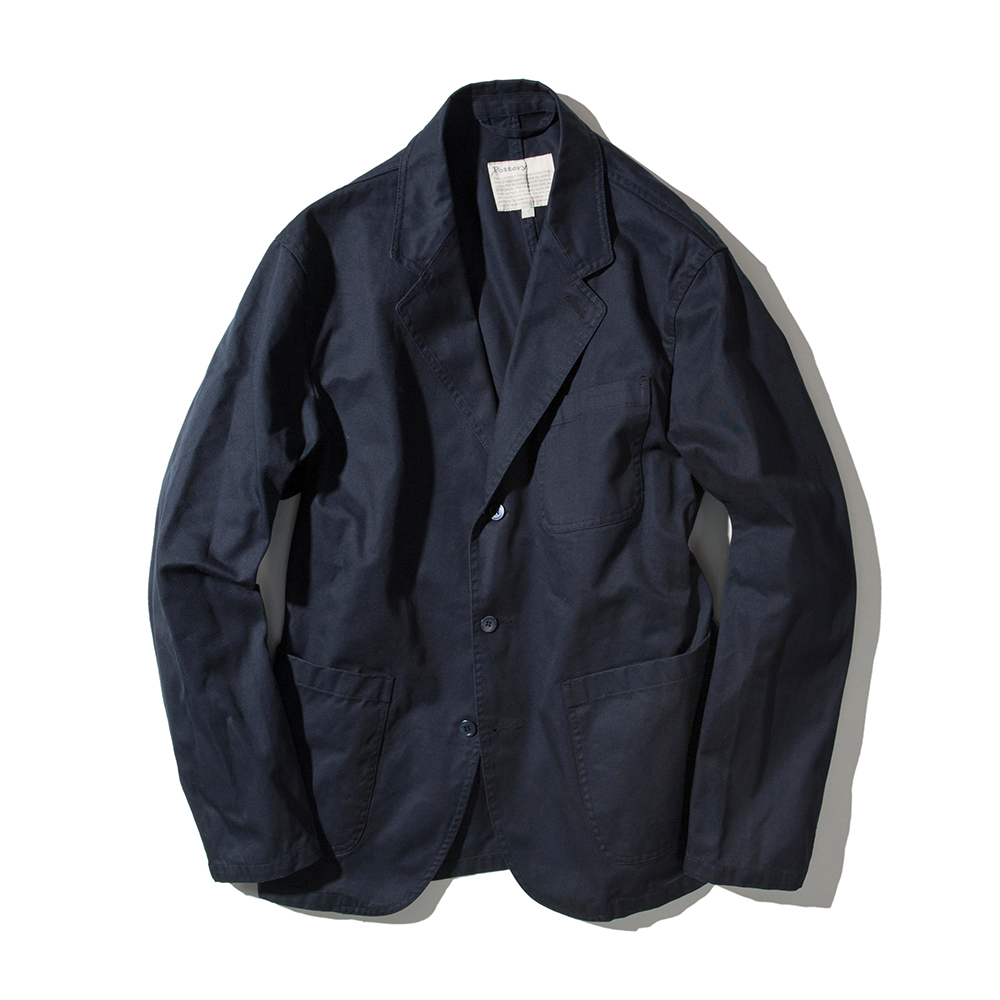 POTTERYCotton Washed Jacket 02(Navy)
