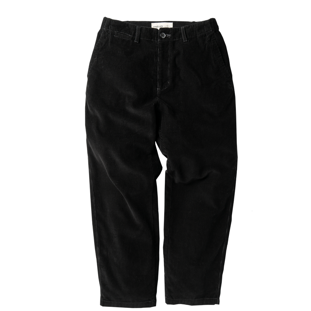 ROUGH SIDECorduroy Banding Pants(Black)30% Off