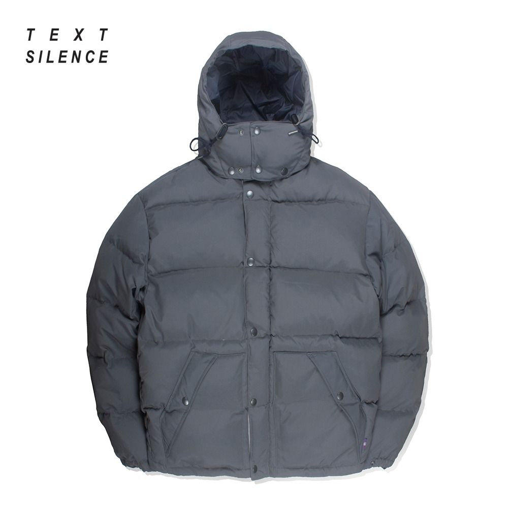 TEXT SILENCE x NAMER CLOTHINGIgloo Duck Down Parka(Gray)