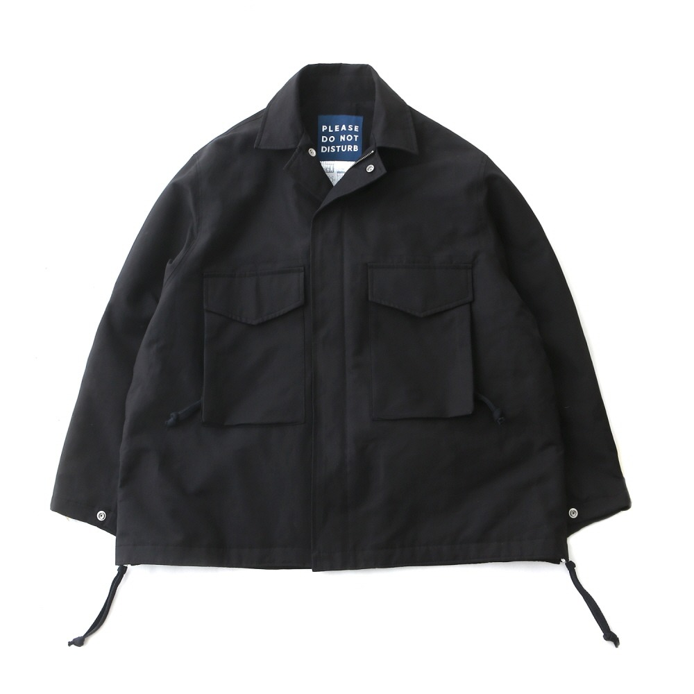 DAILY INNHotel Security M-65 Oversized Jacket(Black)30% off