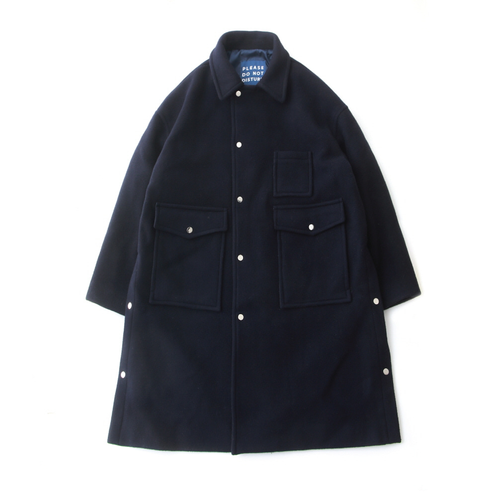[PRE-ORDER]DAILY INNDoor Man Uniform Heavy Wool Oversized Coat(Deep Navy)10% Off  w 398,000