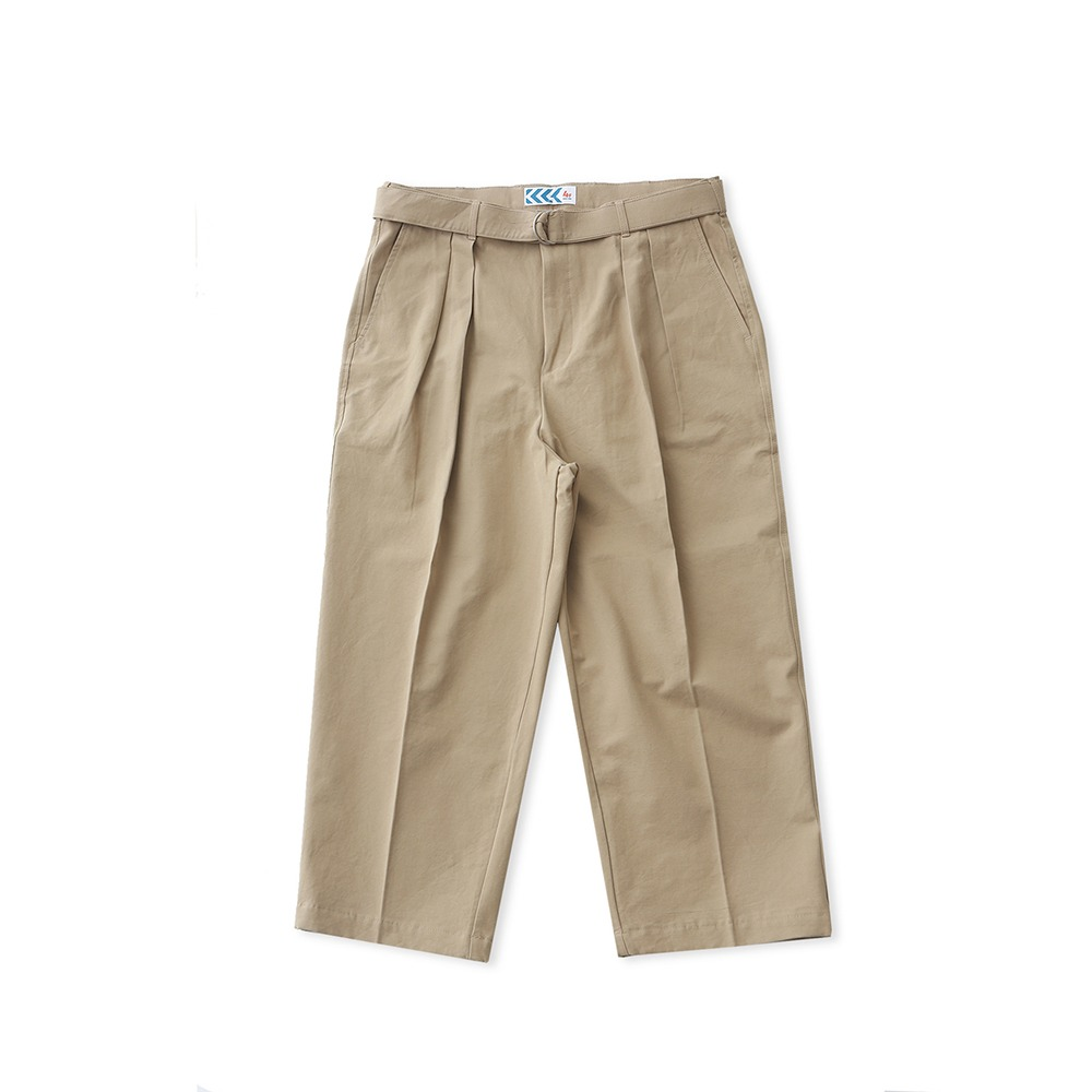 DAILY INNConcierge Belted Wide Pants(Beige)20% off