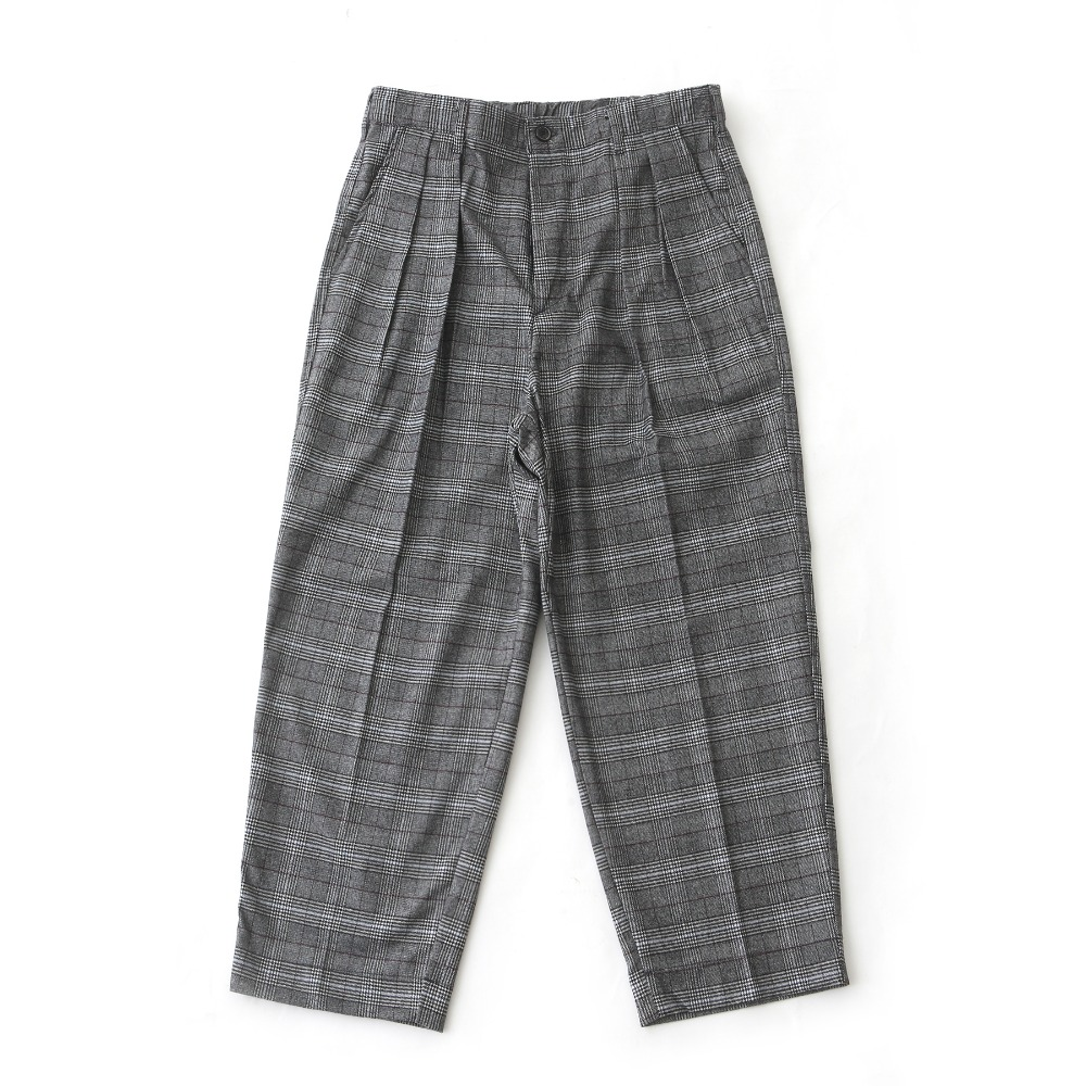 DAILY INNLobby Boy Easy Wide Pants(Grey Check)