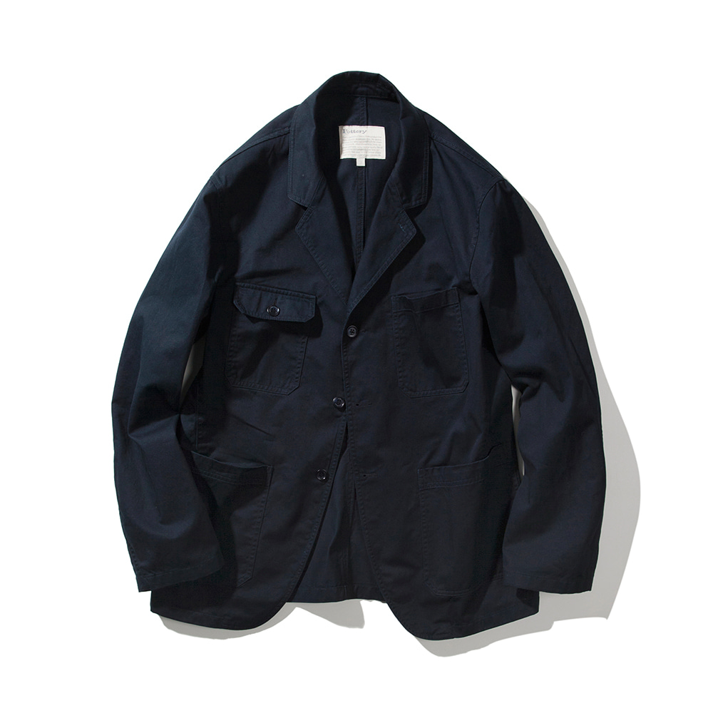 POTTERYTailored Coverall Jacket(Navy)