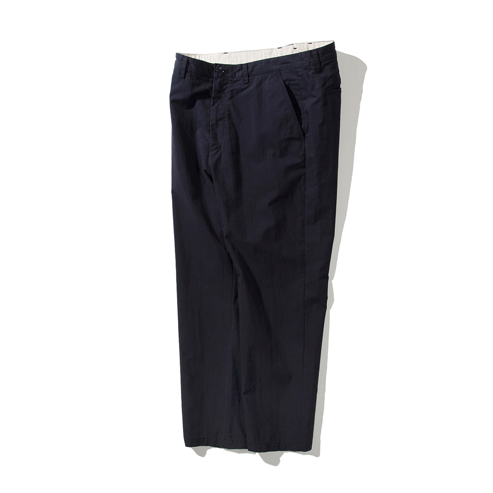 POTTERYWashed Tapered Pants(Navy)