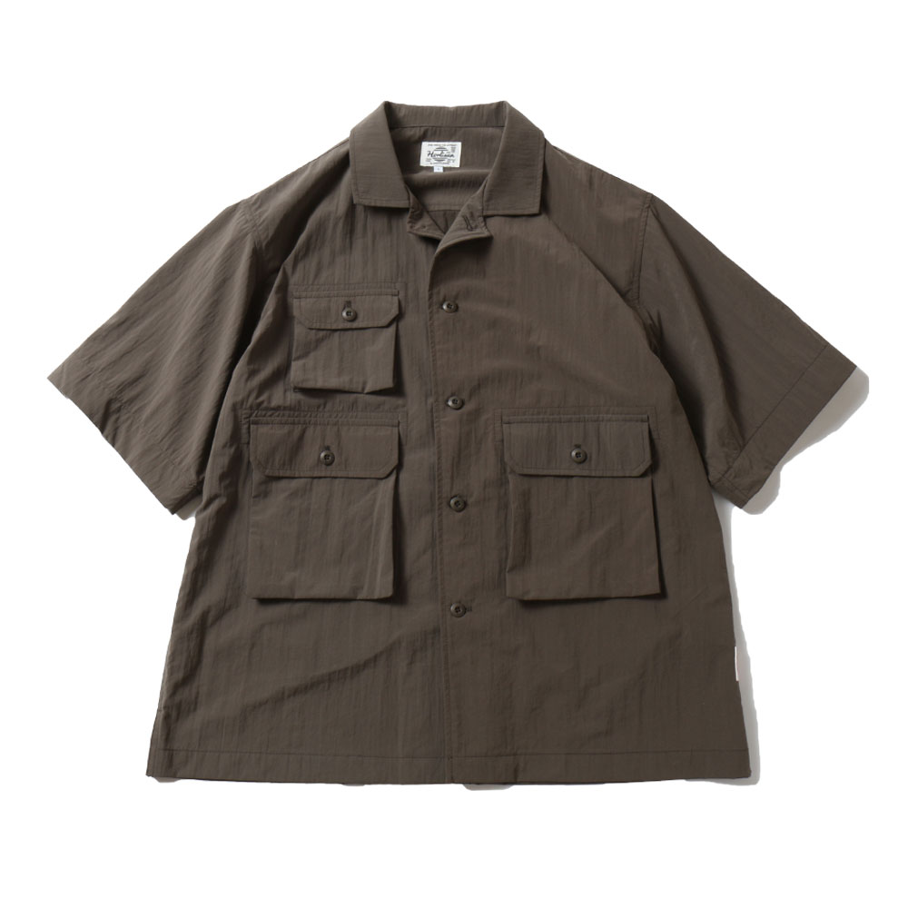 HORLISUNThursday Water Repellent Shirts Jacket(Khaki)