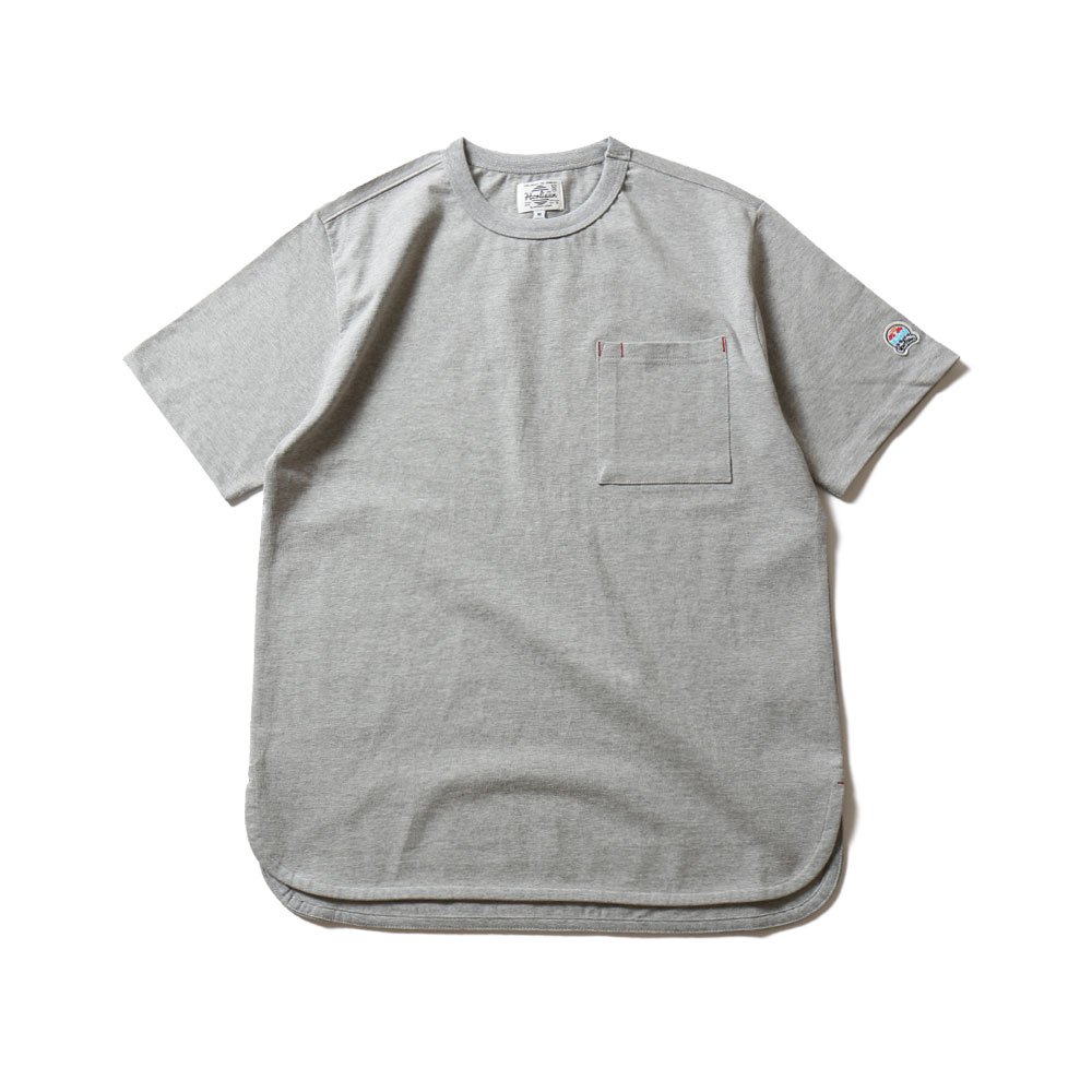 HORLISUNEmery Short Sleeve Pocket T(Gray)