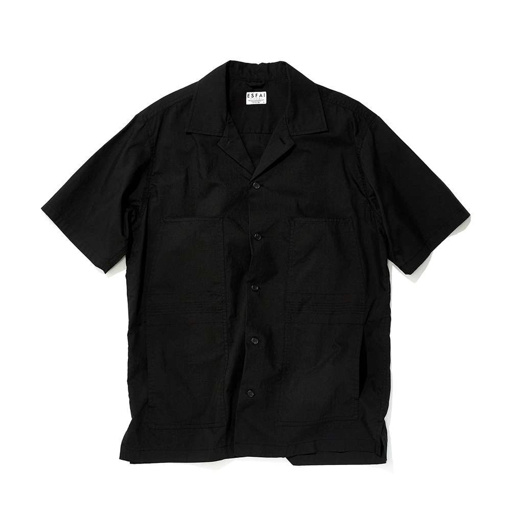 ESFAIFinger Stich Shirts(Black)