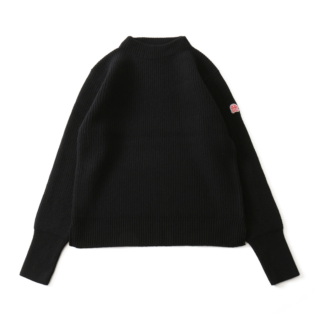 HORLISUNNorthyork Crewneck Slit Heavy Knit(Black)10% Off