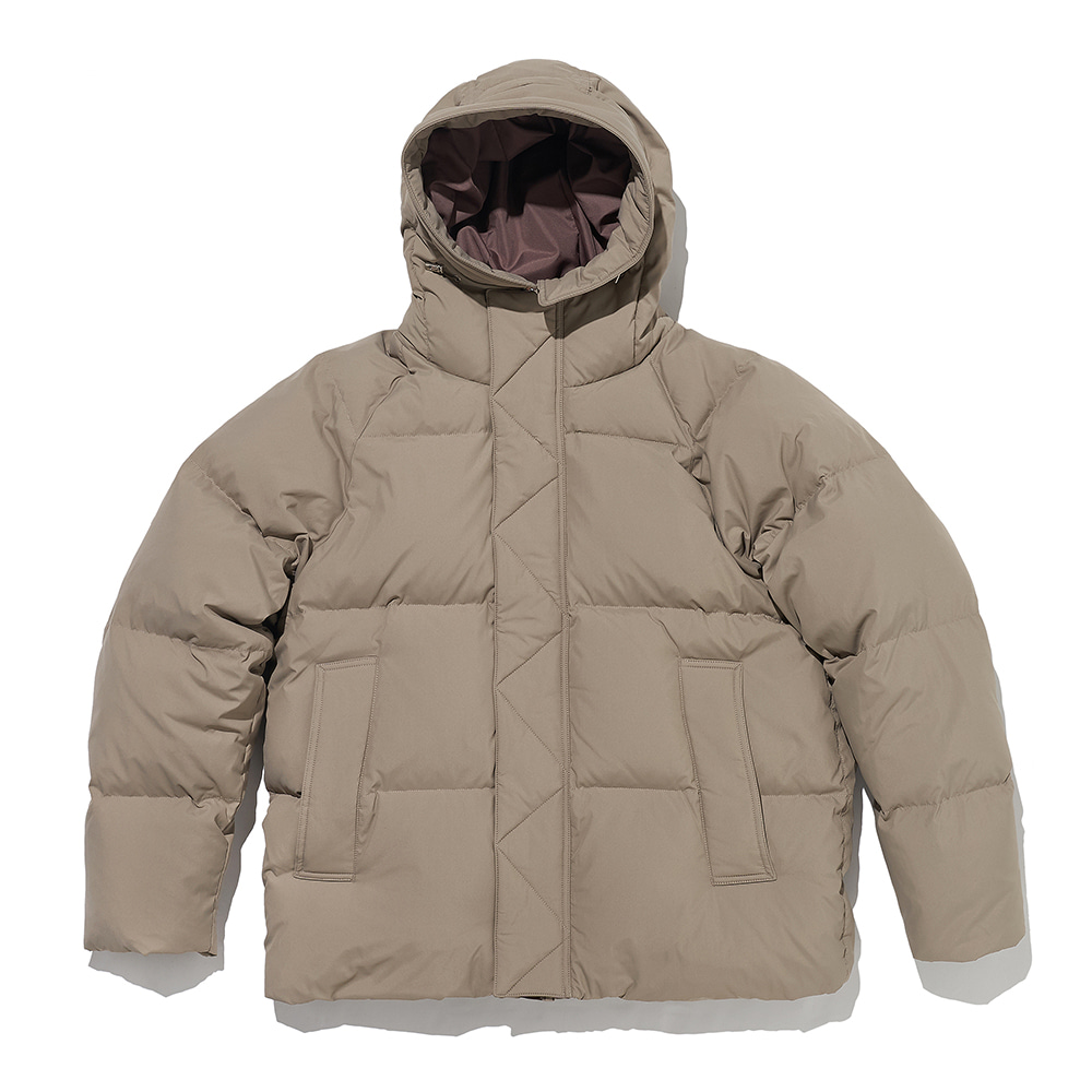 ESFAIfo919 Hooded Parka(Beige)30% Off