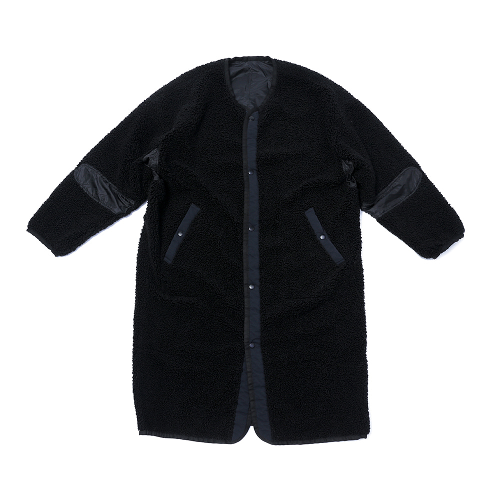 CHAMA SPORTS LAB.UNISEX CSL Boa Rev Coat(Black)