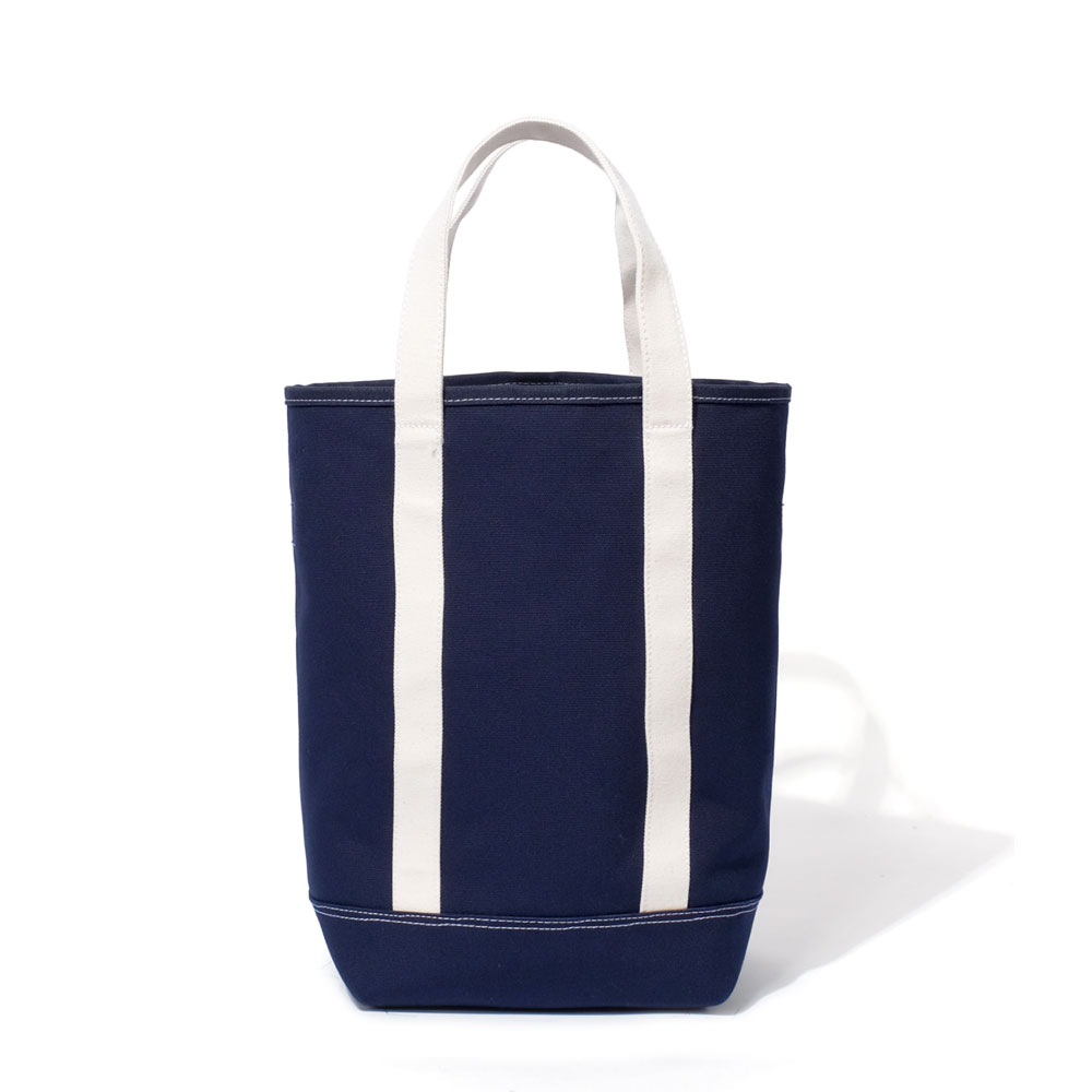 MAZI UNTITLEDGrocery Tote Bag(Navy)