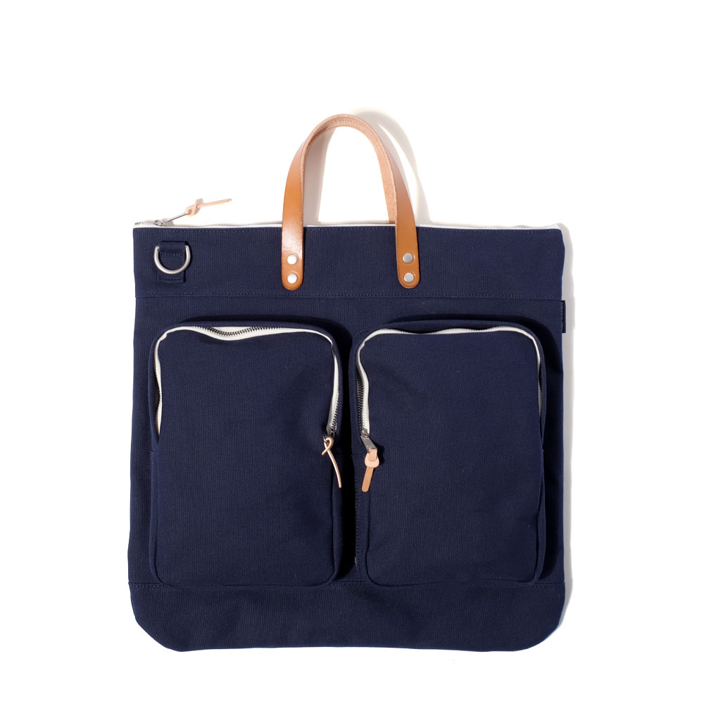 MAZI UNTITLEDHelmet Bag(Navy)