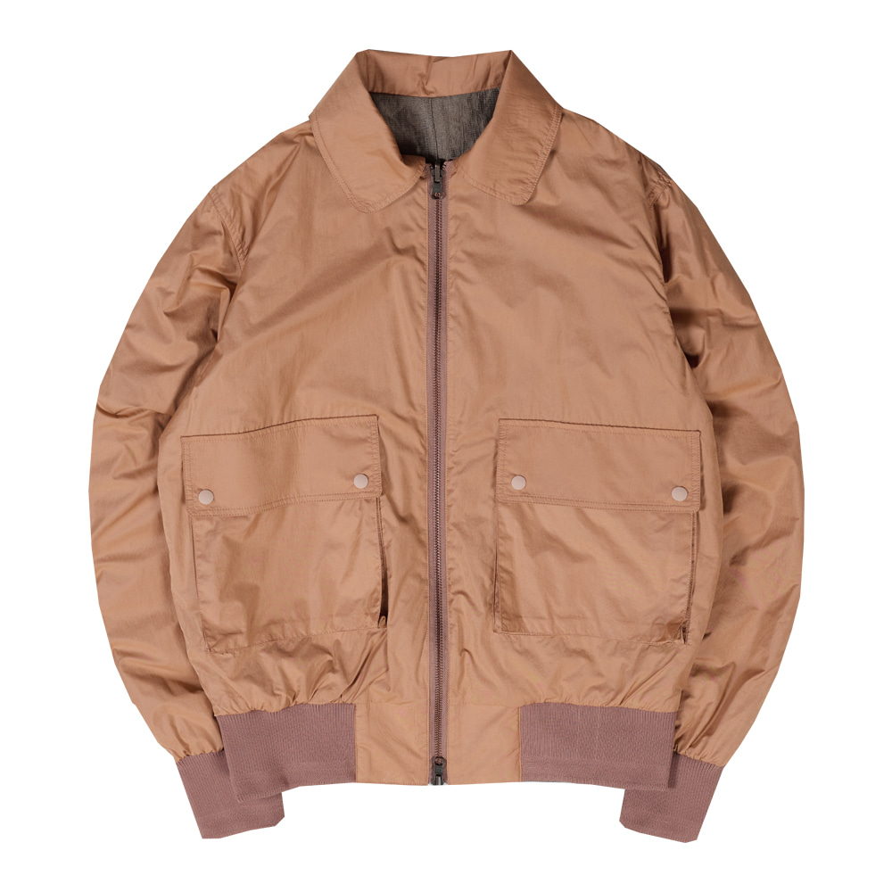 Taste of EssenceUnisex 2Way Reversible Jacket(Peach)