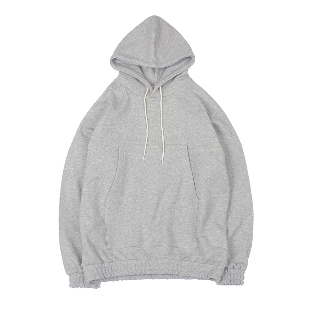 YOU NEED GARMENTSBanded Hoodie(Melange Gray)30% OFF