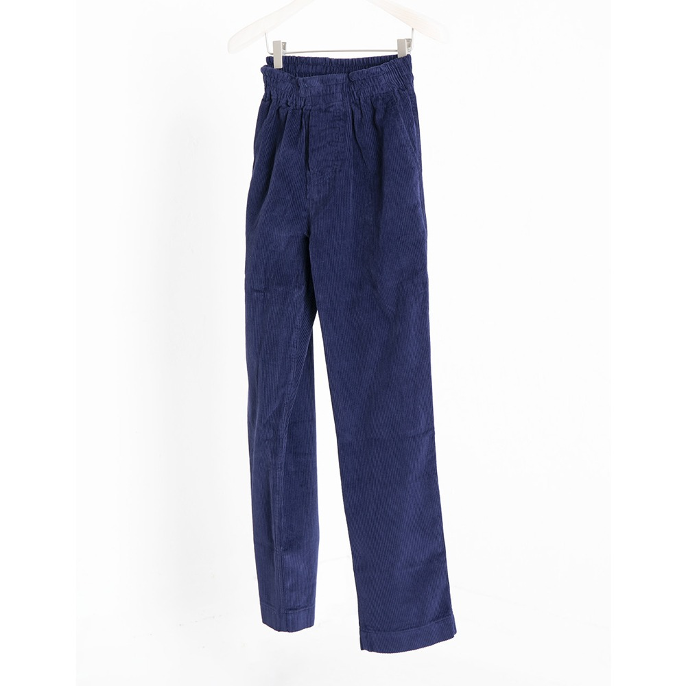 DOCUMENTCorduroy Set Up Pants(Blue)
