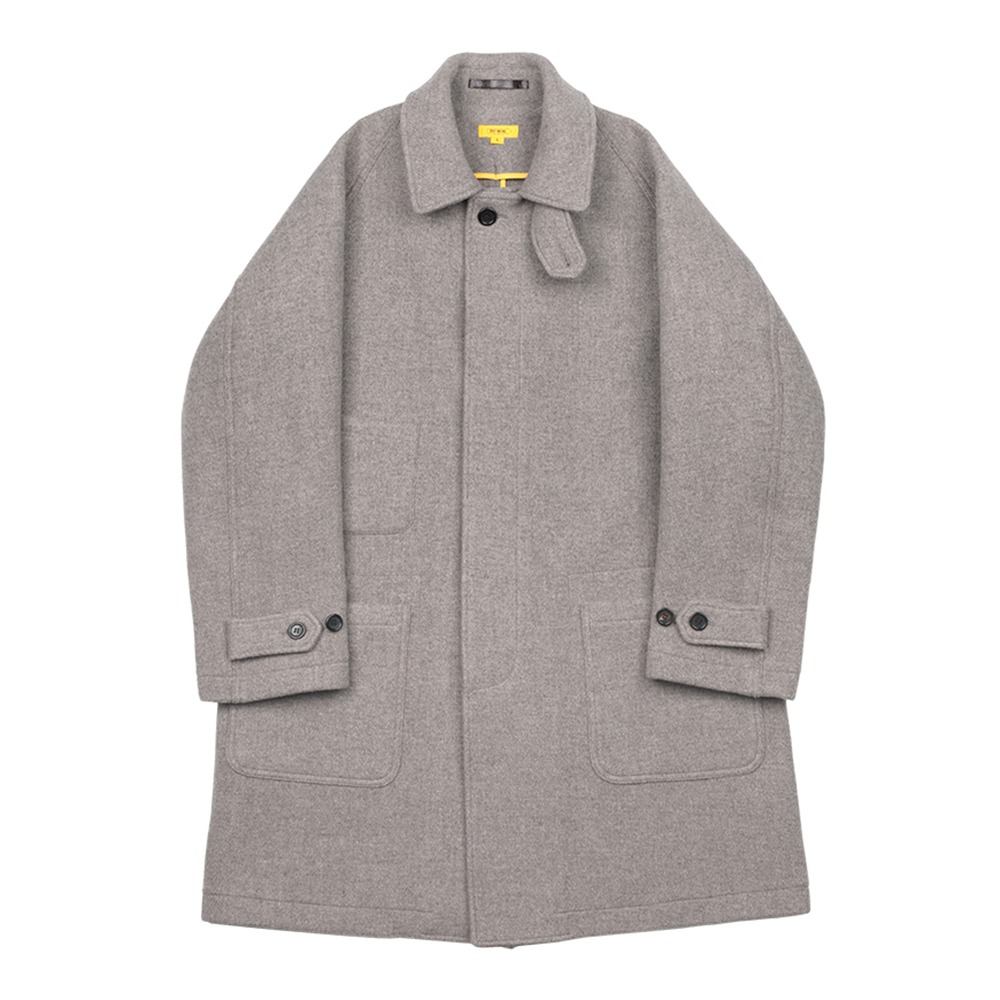 THE RESQ & COArmy Coat(Limestone)