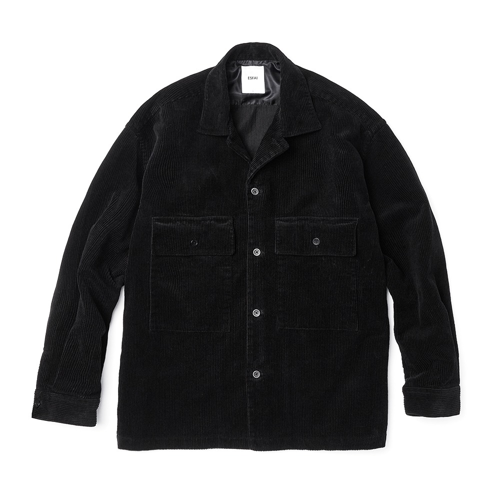 ESFAISO25 Corduroy Set Up Jacket(Black)