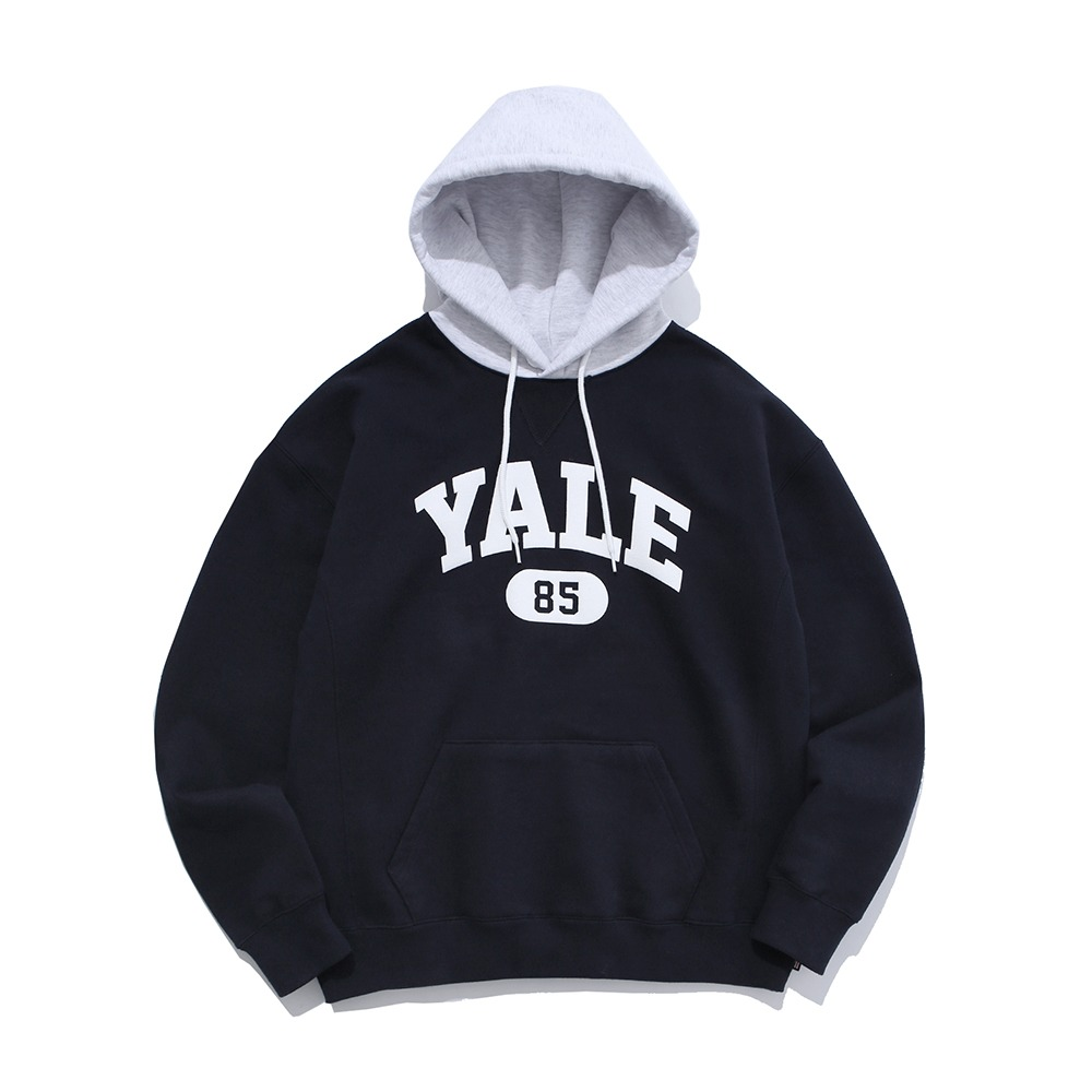 PHYS.ED DEPT(YALE HEAVY WEIGHT)Mixed Hoodie(Navy)