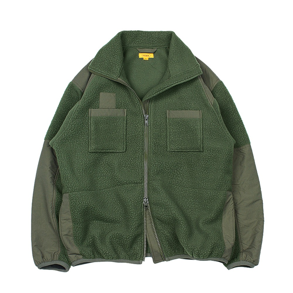 THE RESQ & COECWC Army Fleece(Olive Green)