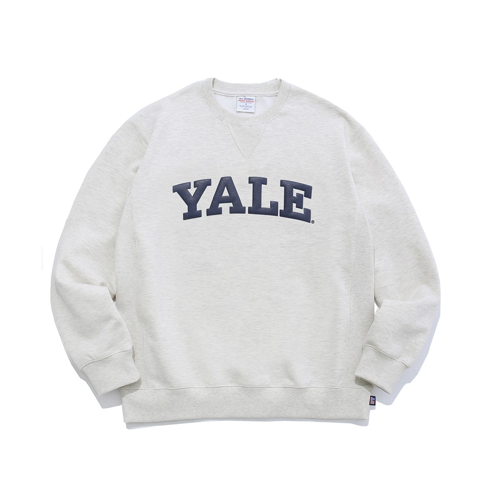 PHYS.ED DEPT(YALE HEAVY WEIGHT)College Crewneck(Oatmeal)