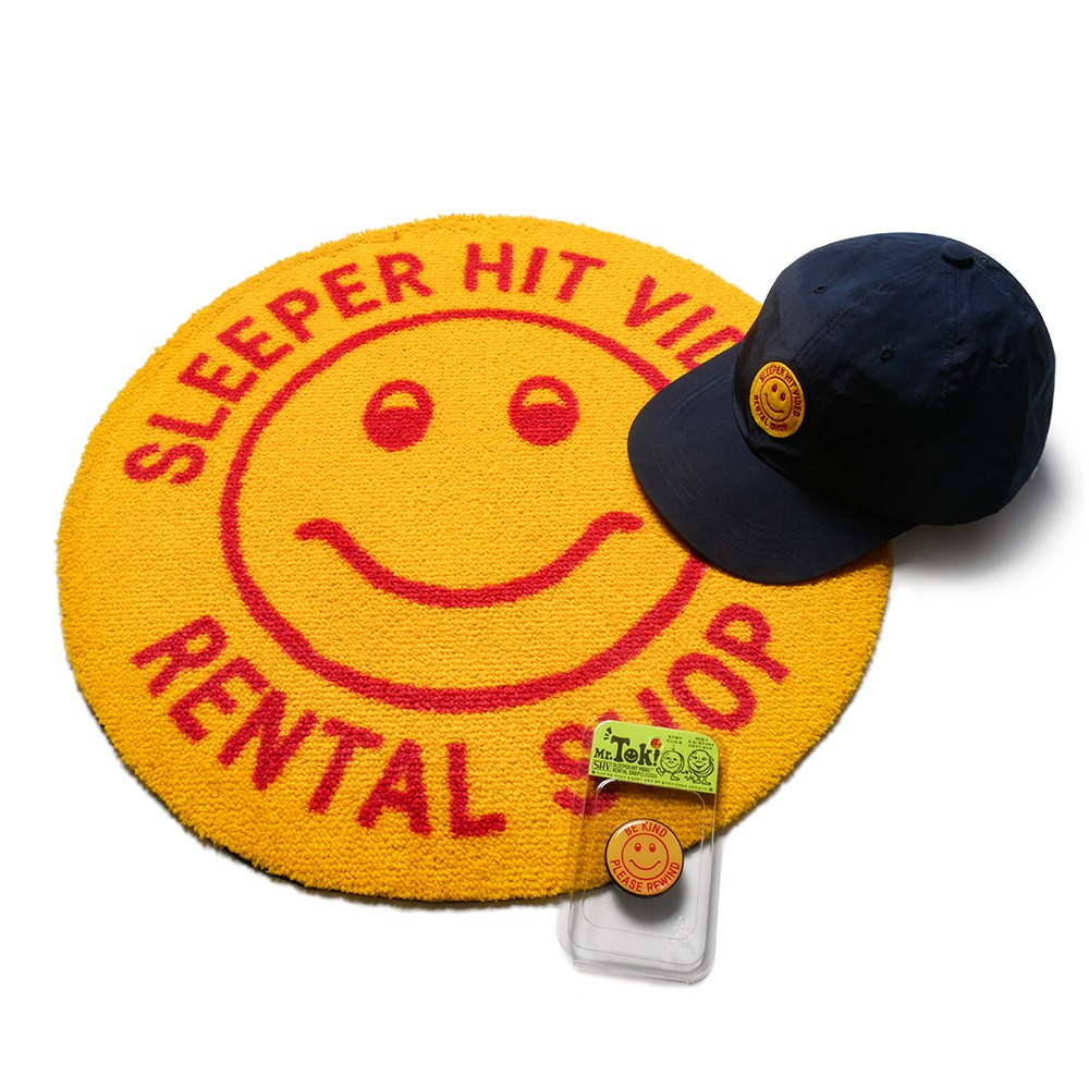SLEEPER HIT VIDEOS.H.V. Smiley Yellow Set(Yellow)15% Off