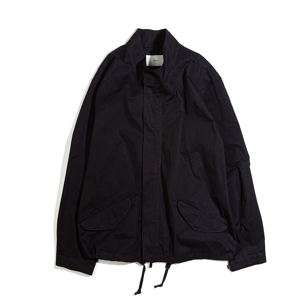 OURSELVESM-65 Fishtail Short Parka(Black)