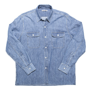 OUR LEGACYDenim Shirts(Washed Blue)