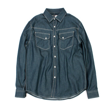 YOU NEED GARMENTSSlope Shirt(Indigo Green)50%Off