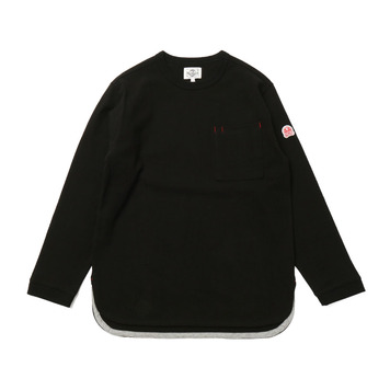 HORLISUNEmery Long Sleeve Pocket T(Black 803)