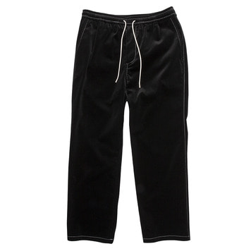 TWOBUILDERSHOUSEVelvet Easy Trouser(Black)