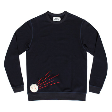 KICK THE BEATBeat Ball Sweat(Navy)