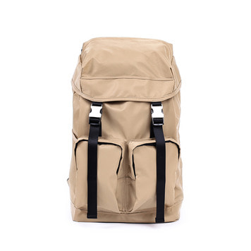 MAZI UNTITLEDNylon All Day Bag(Beige)
