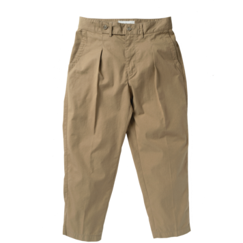 ROUGH SIDERelaxed Trousers(Beige)