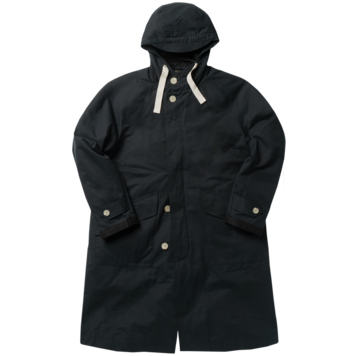 ROUGH SIDEDetachable Hoodie Coat(Navy)30% Off