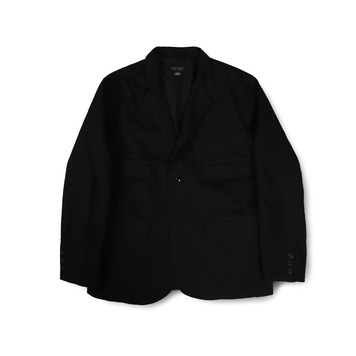 BALLUTEMagazine Jacket(Black Cotton)30% Off