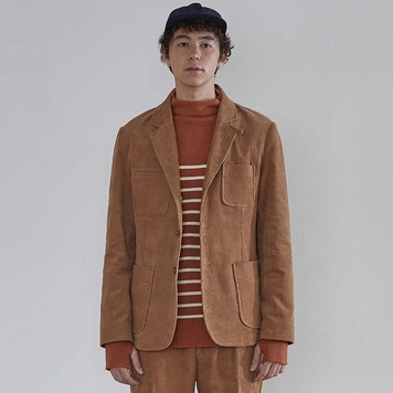 HORLISUNAustin 4 Pocket Corduroy Jacket(Arrowwood)