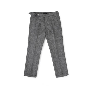 BALLUTEMagazine Single Guruka Pants(Grey Wool)30% Off