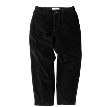 ROUGH SIDECorduroy Banding Pants(Black)