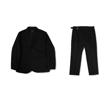 BALLUTEMagazine Set Up (Black Cotton)30% Off  w 346,000