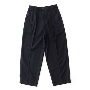 DAILY INNLobby Boy Easy Wide Pants(Navy Wool)