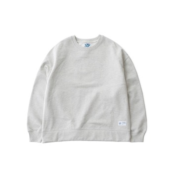 DAILY INNHotel Signature 970G Super Heavy Weight Oversized Sweat(Light Melange)