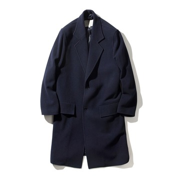 POTTERYMelton Wool Single Coat 01(Navy)