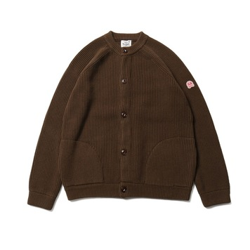 HORLISUNAnnette Cardigan Knit(Dark Brown)