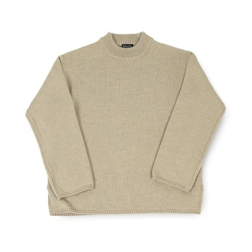 BALLUTEFisherman Crewneck Knit(Tan)