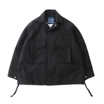 DAILY INNHotel Security M-65 Oversized Jacket(Black)